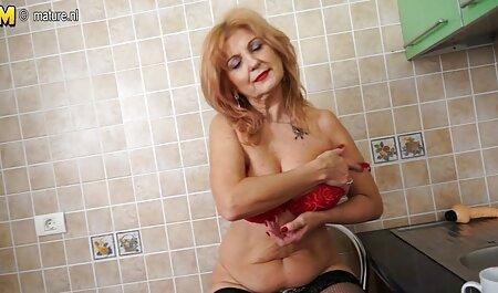 All Internal presenta a Annie ver peliculas eroticas de golden Wolf en un chorreo de leche que gotea