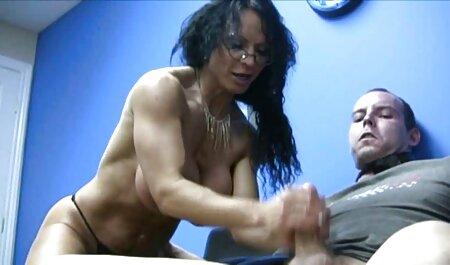 Chica ver película de pornografía atada Stella May aproximadamente garganta profunda y follada